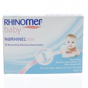 Narhinel® Confort recambios 20uds