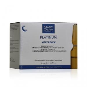 Martiderm® Platinum Night Renew 30 ampollas