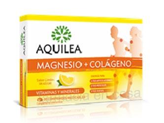 Aquilea Magnesio + Colageno sabor limon 30 Comprimidos Masticables