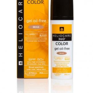 Heliocare 360° Color Gel Oil Free Spf 50+ Beige 50 ml